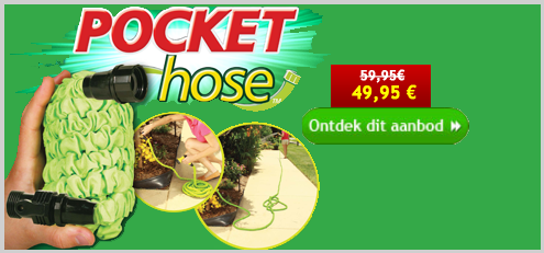 Pocket Hose - 15 meter