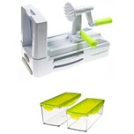 Veggie Cutter machine + Set Container
