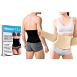Twin Power Belt Zwart + Beige