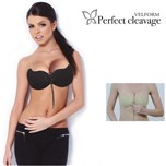 Velform Perfect Cleavage Zwart + Beige