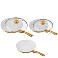 Ceramicore GOLD - Keramische Pannen 5 delige set