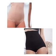 Slim Panties Control Beige + Zwart