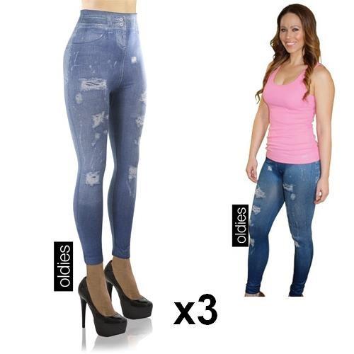 Slim Jeans Legging - 3 Stuks
