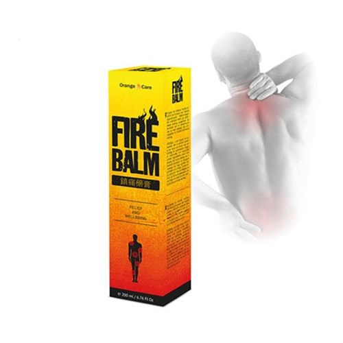 Copper Line Back Support 1+1 + Firebalm