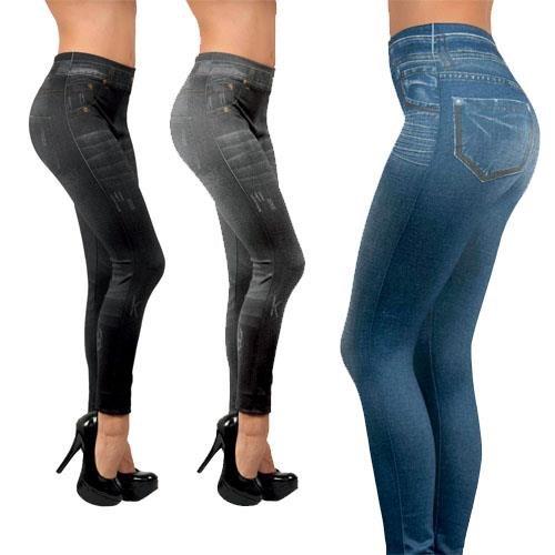 Slim Panties 360° Black + Nude + Slim Jegging x3