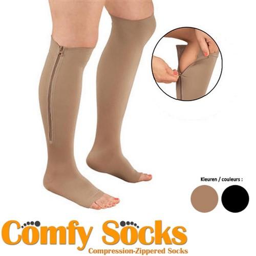 Comfy Socks x3 Paars