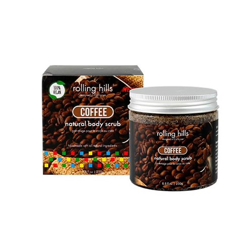 Natural Body Scrub Coffee