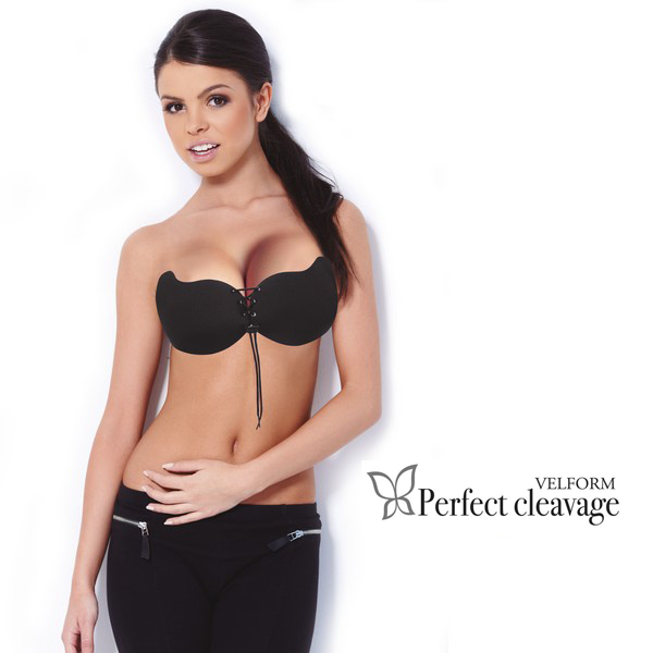 Velform Perfect Cleavage Zwart + Beige